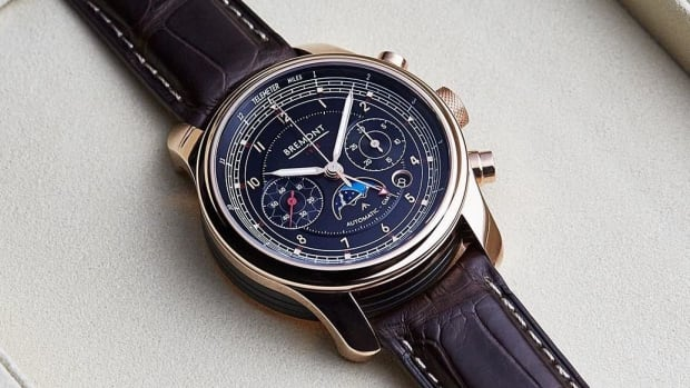 Bremont Rose Gold 1918 BE-16AE