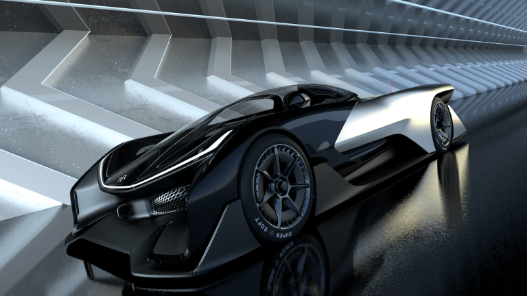 Faraday Future previews what's to come with the FFZERO1