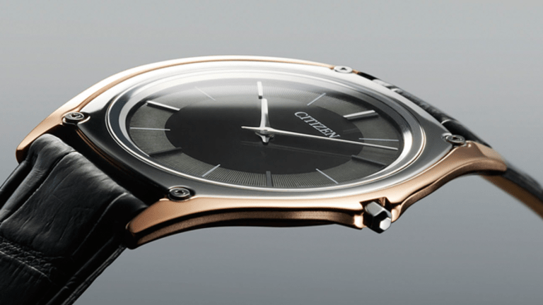 Citizen's new flagship watch is the thinnest light-powered watch in the world