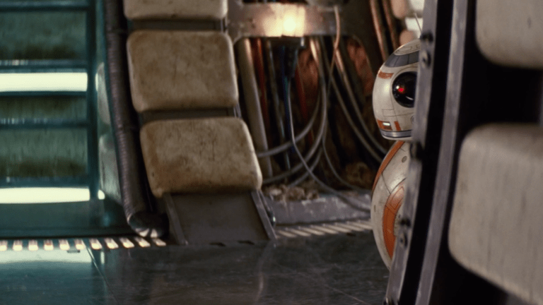 A behind-the-scenes look at Star Wars: The Force Awakens