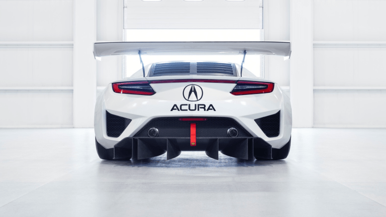 Acura puts its NSX GT3 race car up for sale