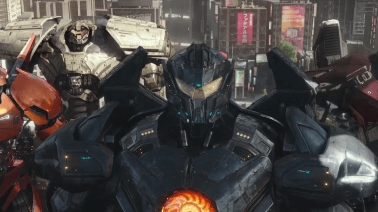 Pacific Rim is back with more gigantic robot mayhem