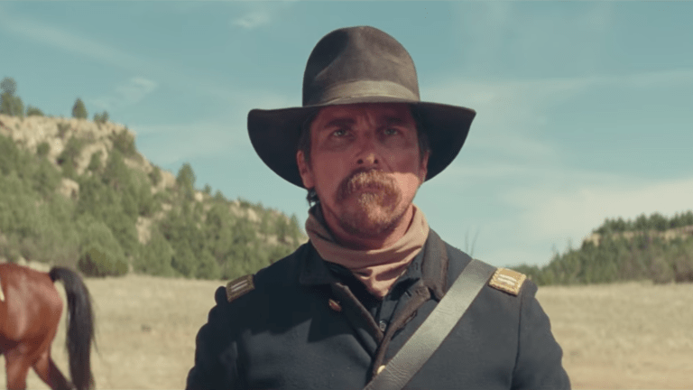 "Christian Bale heads back to the Old West in ""Hostiles"""