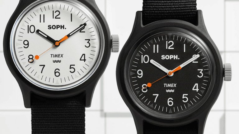 END. and SOPHNET. release a limited edition Timex MK1