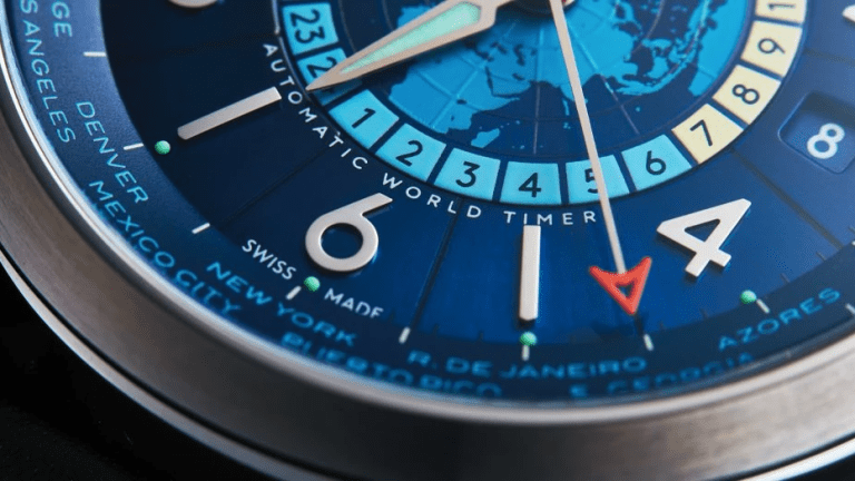Farer launches its first world timer, the Aldrich