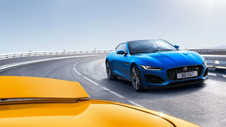 Jaguar reveals the 2021 F-Type
