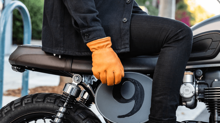 Butterscotch's Blizzard Glove is built for your winter riding kit