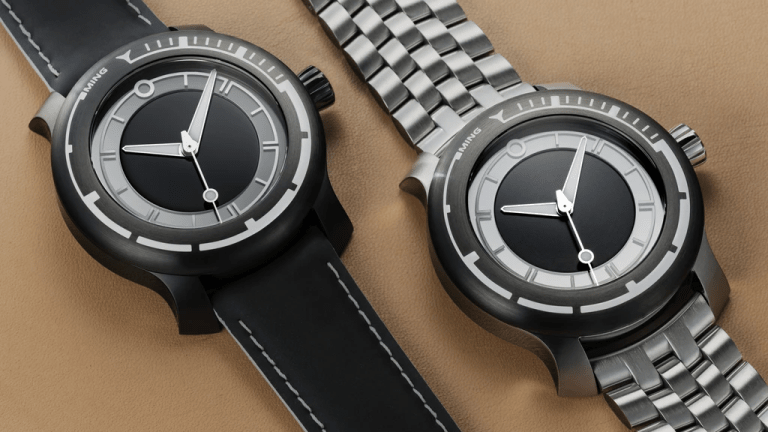 MING releases their new dive watch, the 18.01 H41