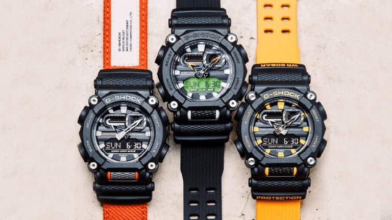 Casio's new G-Shock GA-900 brings seven years of battery life and a new industrial-inspired design