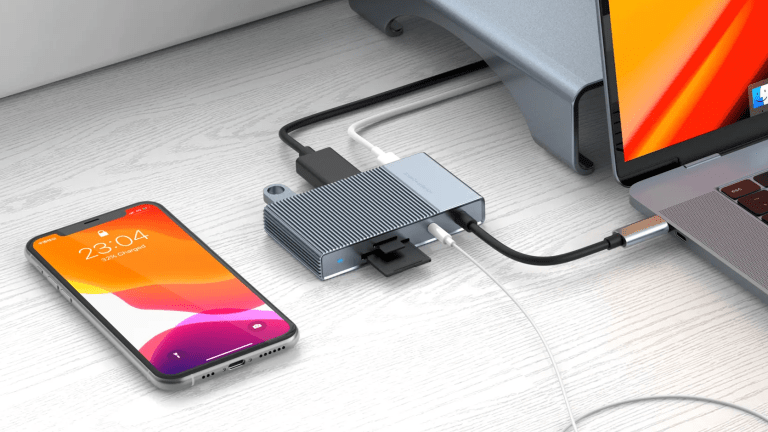 Hyper's latest USB-C hub keeps it compact and gives you all the essential ports
