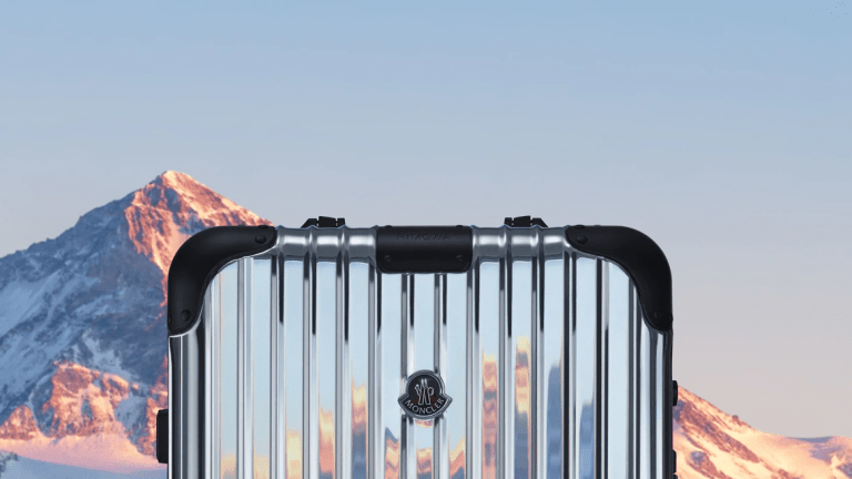 Moncler launches its latest collaboration with Rimowa