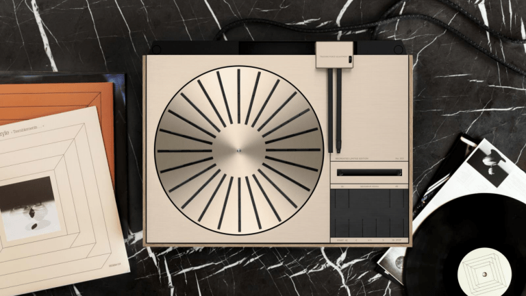 Bang & Olufsen re-releases the Beogram 4000 with a new Recreated Limited Edition