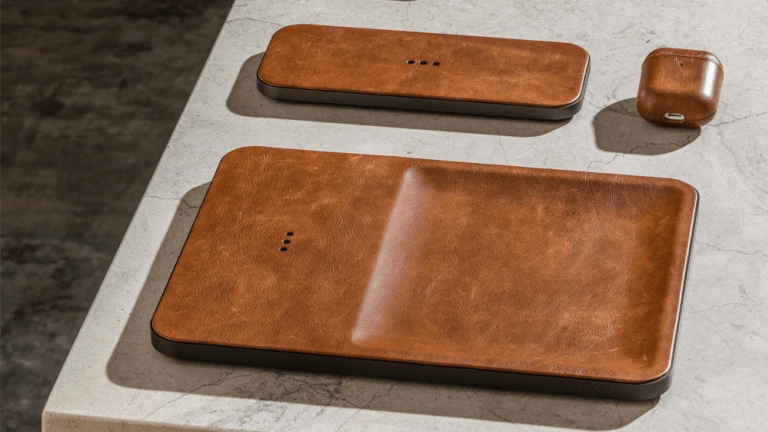 Courant updates their wireless charger lineup in luxurious saddle leather