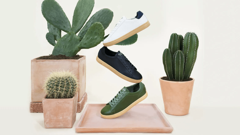 Clae unveils the first sneaker made out of cactus leather