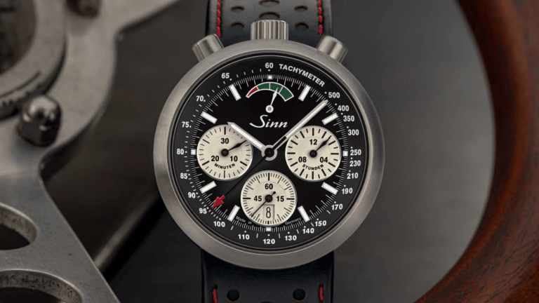 Sinn brings back its R500 racing chronograph
