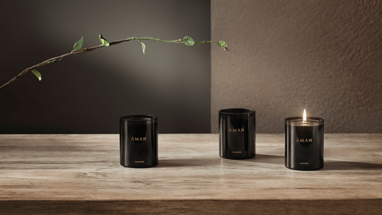 Aman introduces a new candle collection inspired by its world class spas
