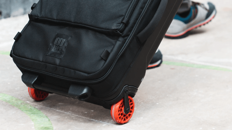 Topo Designs launches its first roller bag