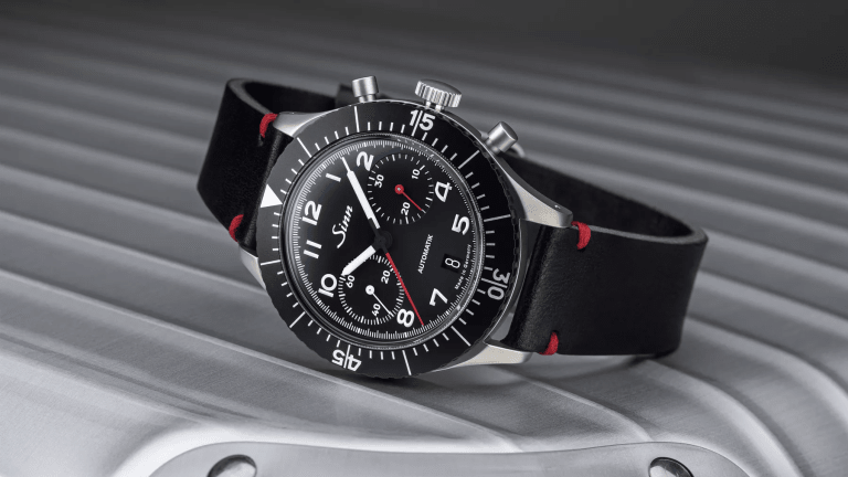 Sinn celebrates the sought-after 155 Bw with the limited edition 158