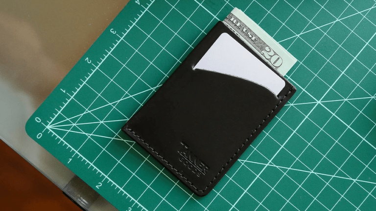 Tanner Goods keeps it slim with their thinnest wallets yet
