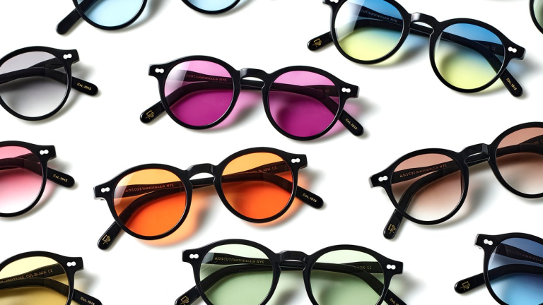 Moscot releases a rainbow of custom tints for their classic Miltzen frame