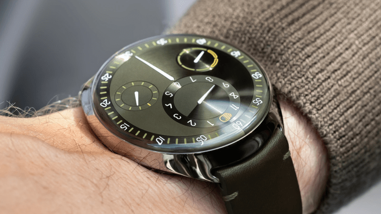 Ressence marks its 10th anniversary with the limited edition Type 1 Slim X