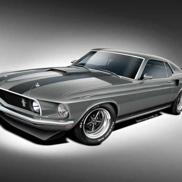 Classic Recreations Mustang Mach 1