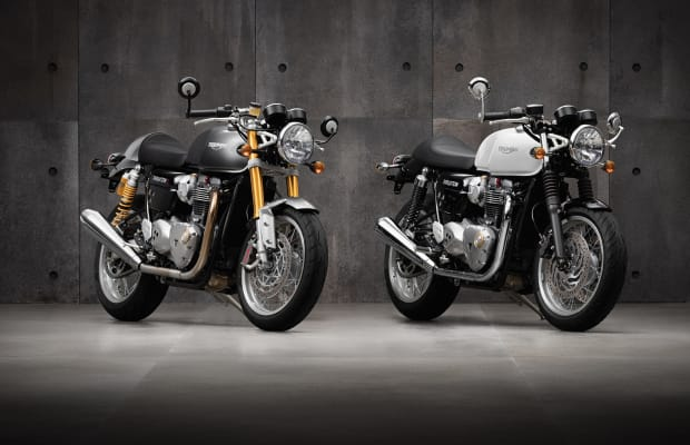 2015 Rewind   Triumph reboots a cafe racing icon with the Bonneville Thruxton