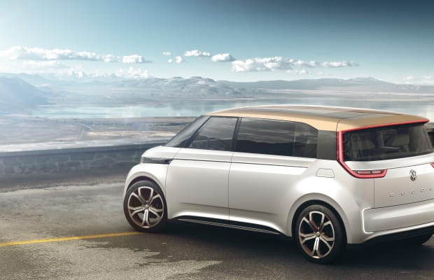 VW previews its electric vehicle platform with the BUDD-e concept