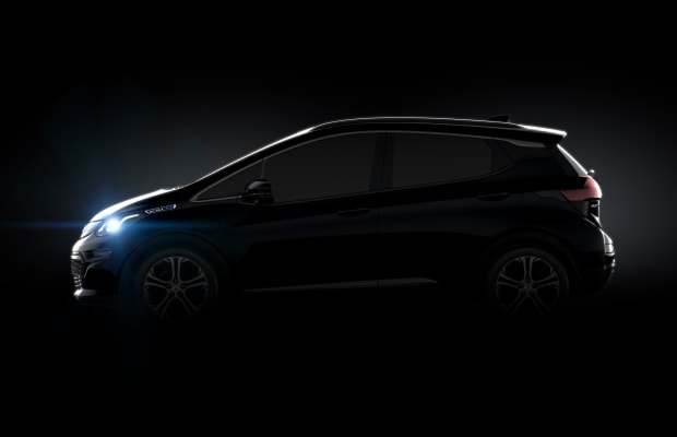 Chevrolet builds an electric car for the masses with their Bolt EV