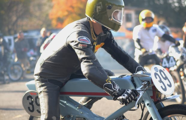 A classic Honda scooter gets injected with some Deus Ex Machina Firepower
