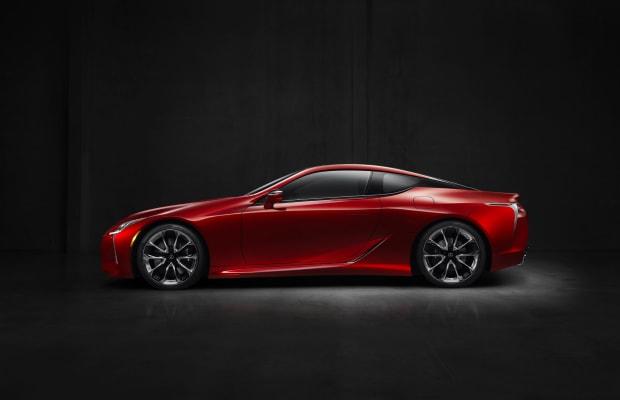 Lexus announces a new flagship coupe, the LC 500