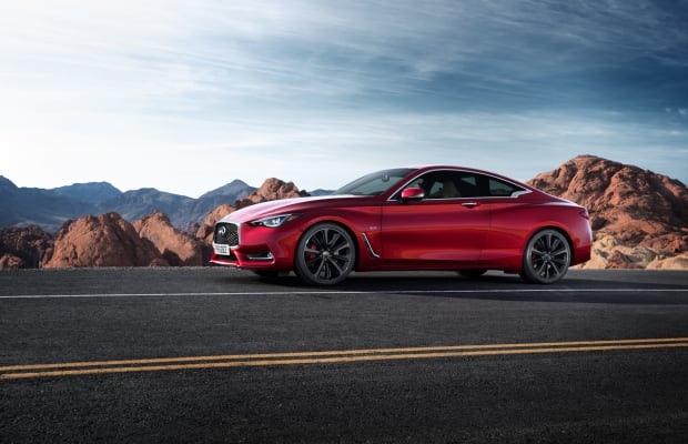 Infiniti ups the performance ante with the new all-new Q60 coupe