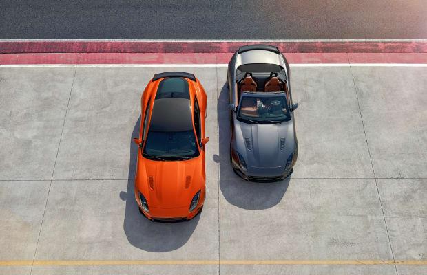 Jaguar previews its 200 mph F-TYPE SVR