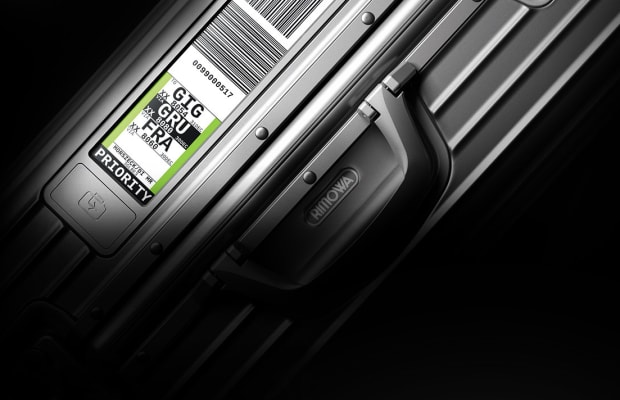 Rimowa speeds up the check-in process with their new Electronic Tags