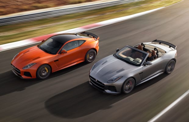 Jaguar fully reveals the absolutely insane 200 mph F-Type SVR