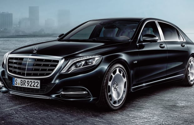 Mercedes brings presidential-level security to their Mercedes-Maybach S 600 Guard