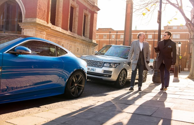 Jaguar and Land Rover's head designers get together for a chat about British design