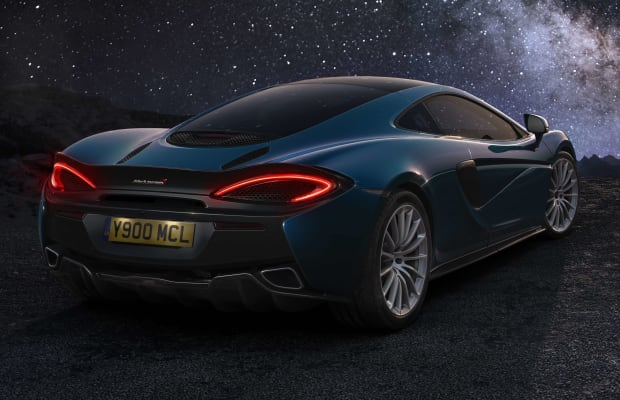 Designed for the ultimate road trip, Mclaren's 570GT