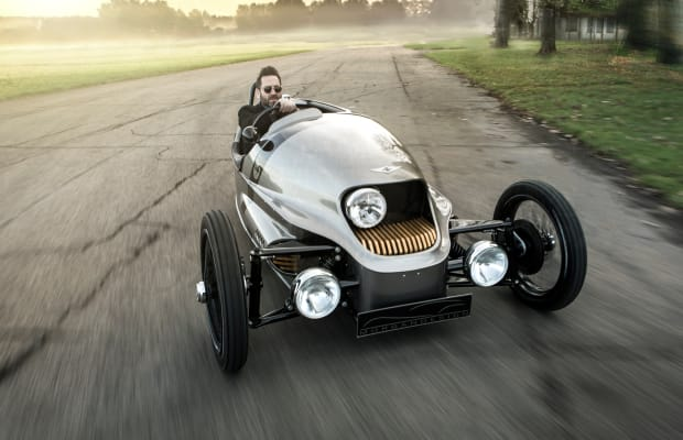 The famed Morgan 3-Wheeler goes all-electric with the new EV3
