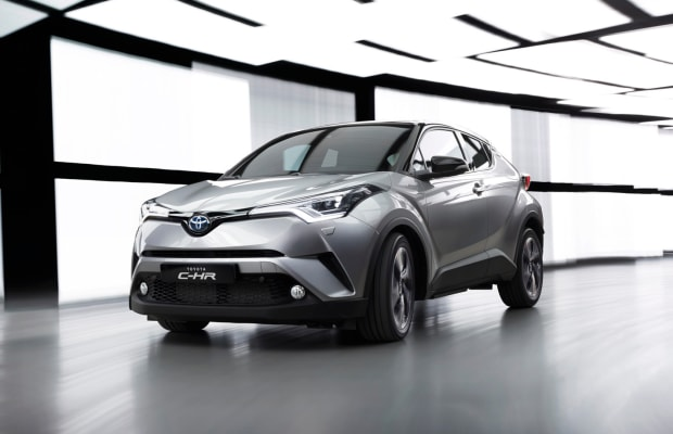 Toyota's new C-HR gives their design language a much-needed boost