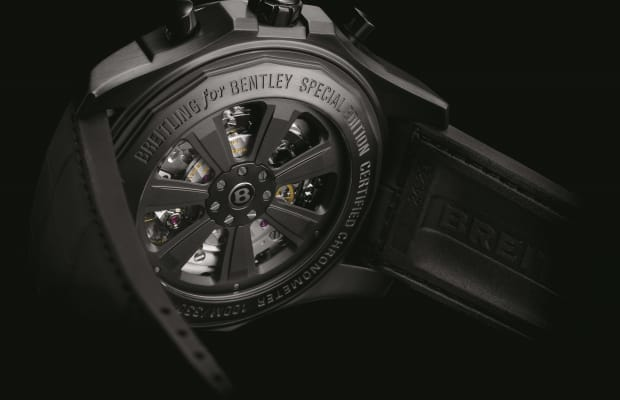 Breitling builds the perfect watch to match your blacked-out Bentley