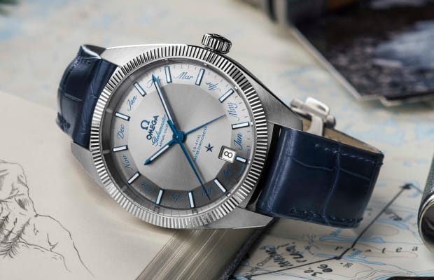 Omega adds an Annual Calendar to its Globemaster line