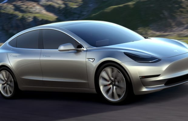 Tesla reveals the $35,000 Model 3