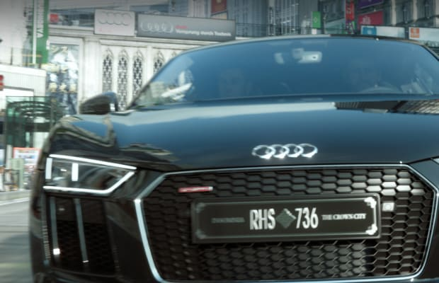 Audi presents a one-of-a-kind R8 for Final Fantasy XV