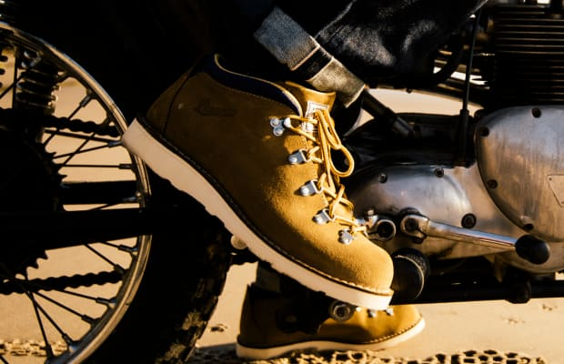 Perfect on or off the bike, the Danner x Iron & Resin Tramline Boot