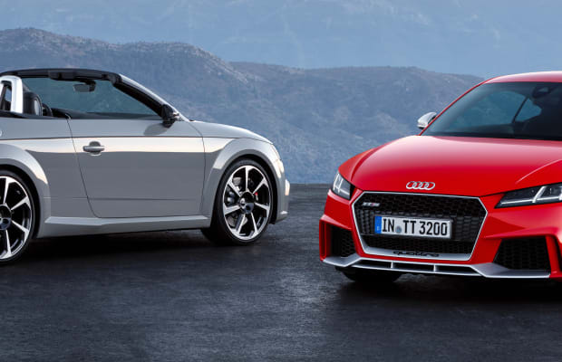 Audi puts supercar-level speed into the new TT RS