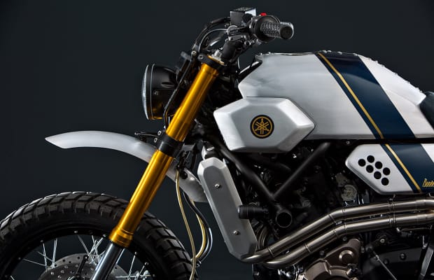 Bunker Custom Motorcycles builds a Tracker-style Yamaha XSR700