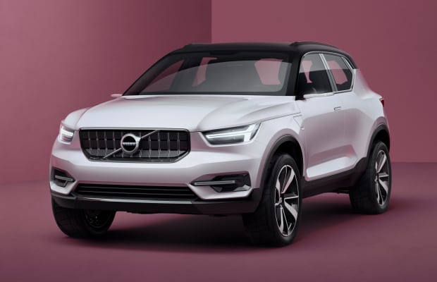 Volvo's 40.1 and 40.2 concepts preview their upcoming compacts