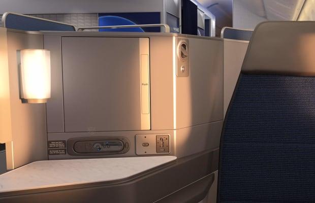 United unveils its new Polaris Business Class
