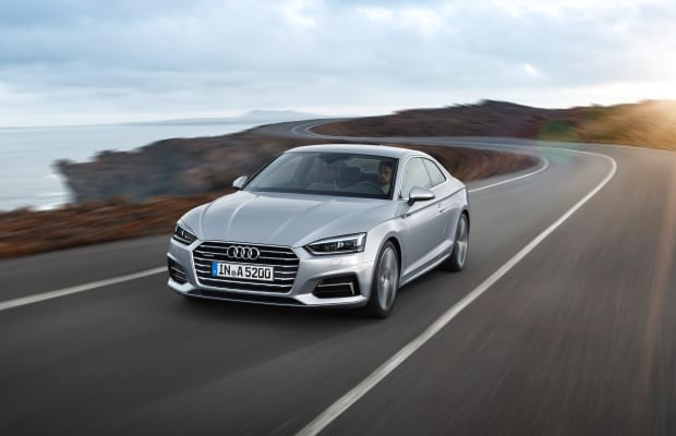 Audi debuts an all-new look for its next-gen A5 Coupe